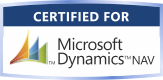 Certified for Microsoft Dynamics NAV 2008
