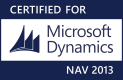 Certified for Microsoft Dynamics NAV 2013