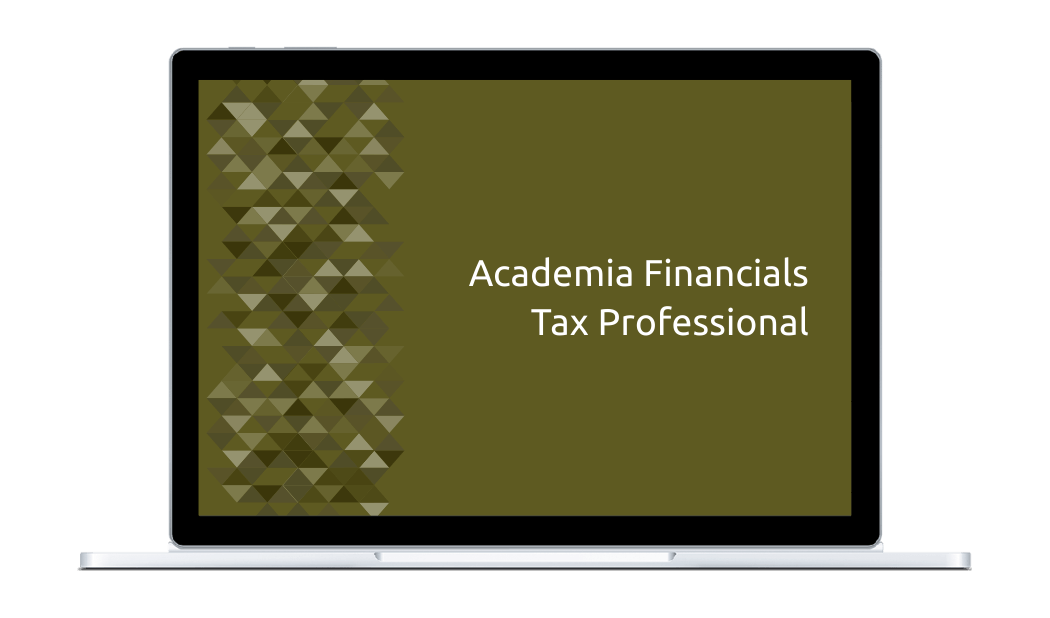 Academia Financials Tax Professional